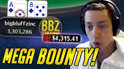 BIGGEST Bounty I've Ever Seen! $530 Bounty Final Table (Twitch Poker Highlights)