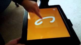 Nathan with IWW on the iPad