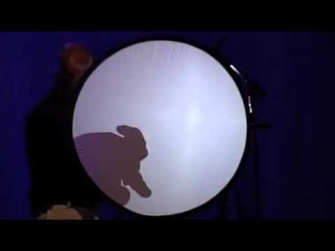 Comedian Bob Stromberg does his classic Shadow Puppet Show