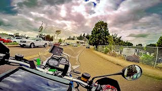 2012 R1200GS Completed!! • So Let's Take 'er Out..! | TheSmoaks Vlog_914