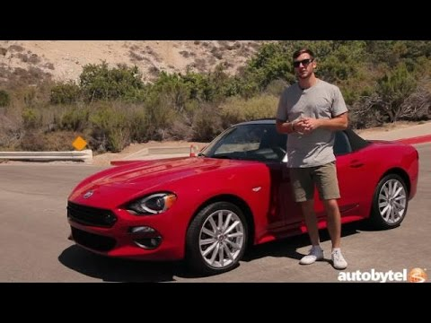 2017 fiat 124 spider lusso test drive video review youtube. Black Bedroom Furniture Sets. Home Design Ideas