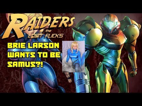 BRIE LARSON WANTS TO PLAY SAMUS FROM METROID