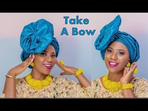 Download How to tie Take A Bow Gele Headgear -  Full Tutorial