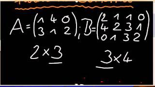 [Mathematische Grundlagen] Matrizenmultiplikation mit dem Falk'schen Schema