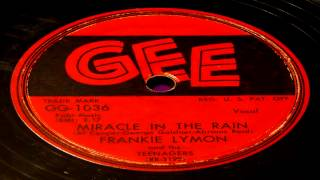 Miracle In The Rain - Frankie Lymon And The Teenagers