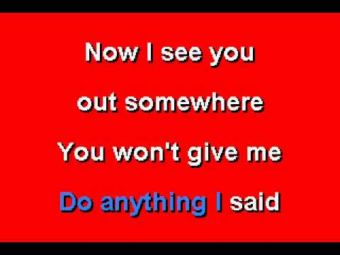 Stevie Ray Vaughn -  Cold Shot - Karaoke