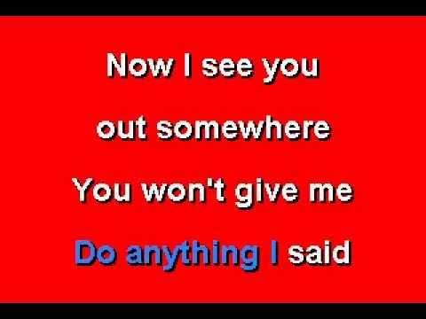 Stevie Ray Vaughn -Cold Shot - Karaoke