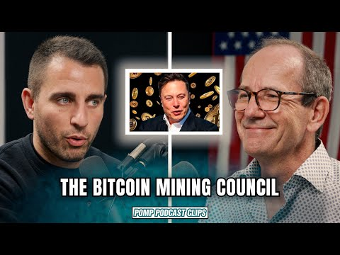 The Bitcoin Mining Council | Fred Thiel | Pomp Podcast CLIPS
