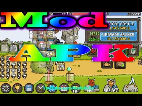 Grow Castle Mod Apk Cheat 2018 No Root Unlimited All Youtube
