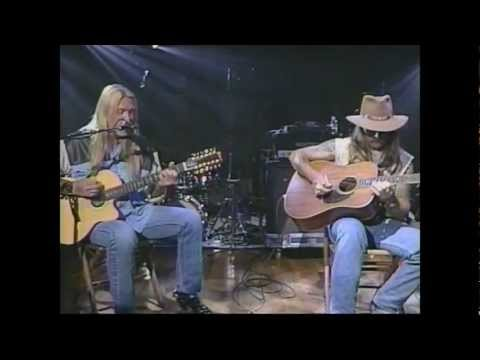 Allman Brothers Blues Band - Melissa - Acoustic - Live Music - Gregg & Dickie Betts - Video