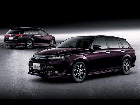 2016 New Toyota Corolla Fielder Hybrid 2015 Youtube