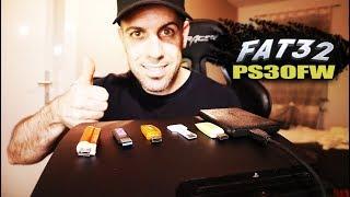 PS3Xploit 4.84 dividir juegos pesados +4GB USB FAT32 | No más PKG Linker