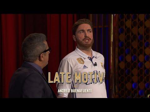 LATE MOTIV - Raúl Pérez es ¡Sergio Ramos!   #LateMotiv209