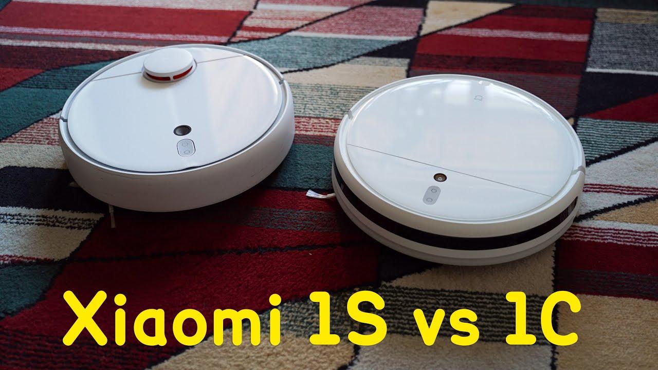 Xiaomi Mijia 1c Vs Xiaomi Mijia 1s Best Robot Vacuum Cleaner Reupload Youtube