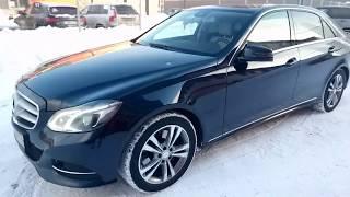 Mercedes-Benz/E-klasse/2013 Седан IV (W212, S212, C207) Рестайлинг /250 CDI 2.1 AT...