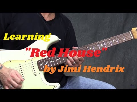 """Learning """"Red House"""" By Jimi Hendrix   GuitarZoom.com   Steve Stine"""