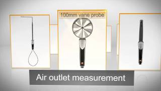 VAC measuring instrument testo 480