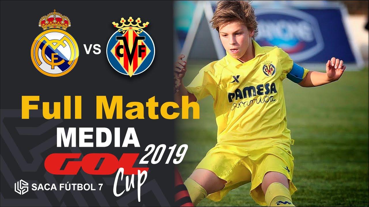 Real Madrid vs Villarreal CF Media Gol Cup 2019   Alevín ...