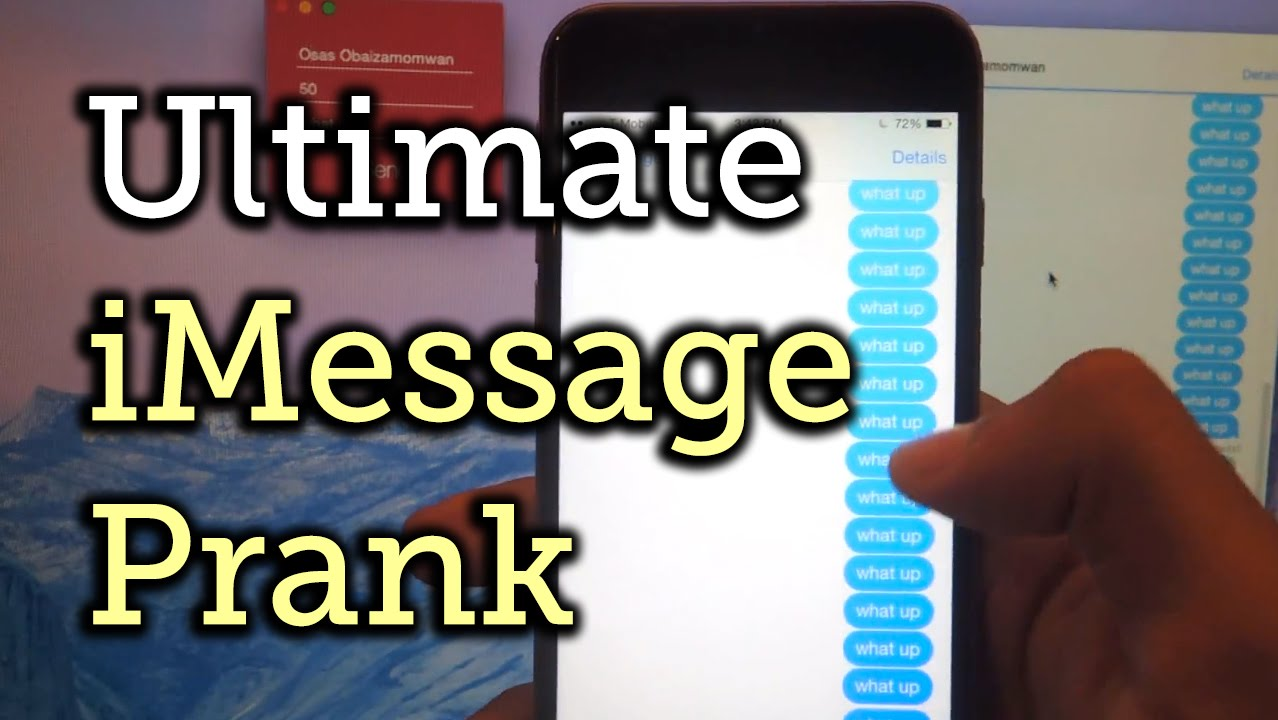 Prank Your Apple Friends with 1,000s of iMessages in Just