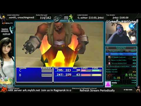 [World Record] FF7 Any% No Slots (Tied WR)