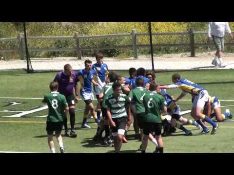 San Clemente Gators vs Coast Dragons – U16 Rugby, 4/15/2017