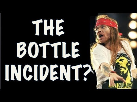 Guns N' Roses Documentary: True Story Behind The Duff McKagan's Sacramento Bottle Incident