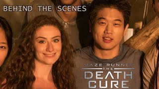 MAZE RUNNER: THE DEATH CURE - SET VISIT (BEHIND THE SCENES)!
