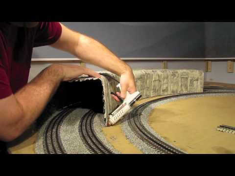 Building O-Scale Tunnels – Part 7 of 8