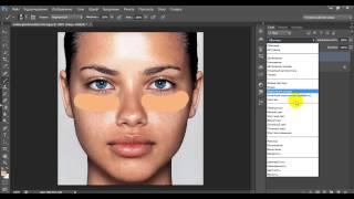 Уроки фотошопа:  Ретушь лица часть 1