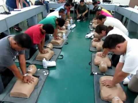 Elementary First Aid-( SOLAS ) Basic Safety Training-University of Cebu 2013