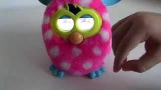 Furby y juego Furby Boom en español.