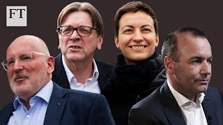 European elections: who won in clash of candidates?