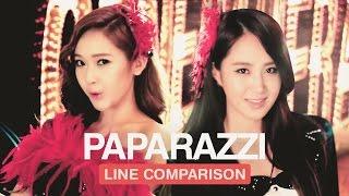 Girls 39 Generation PAPARAZZI Line Comparison without Jessica.mp3
