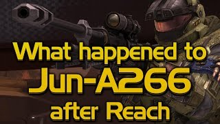 What happened to Jun after Halo: Reach