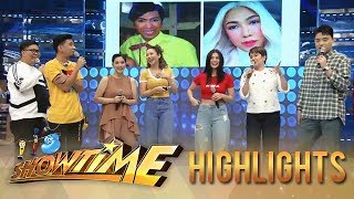 It's Showtime: It's Showtime family takes on How Hard Did Aging Hit You challenge