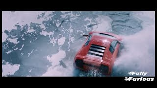 Fate of the Furious 8 (2017)  Roman car sinking under Ice   scene Hd