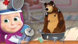 Маша и Медведь Маша Доктор Лечит Мишку Игра Для Детей