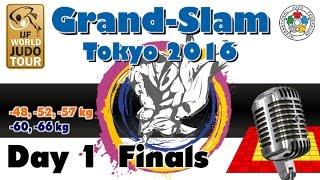Judo Grand-Slam Tokyo 2016: Day 1 - Final Block