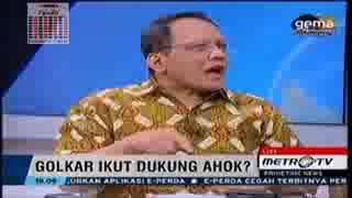 Partai Golkar Dukung Ahok Di Pilgub DKI 2017