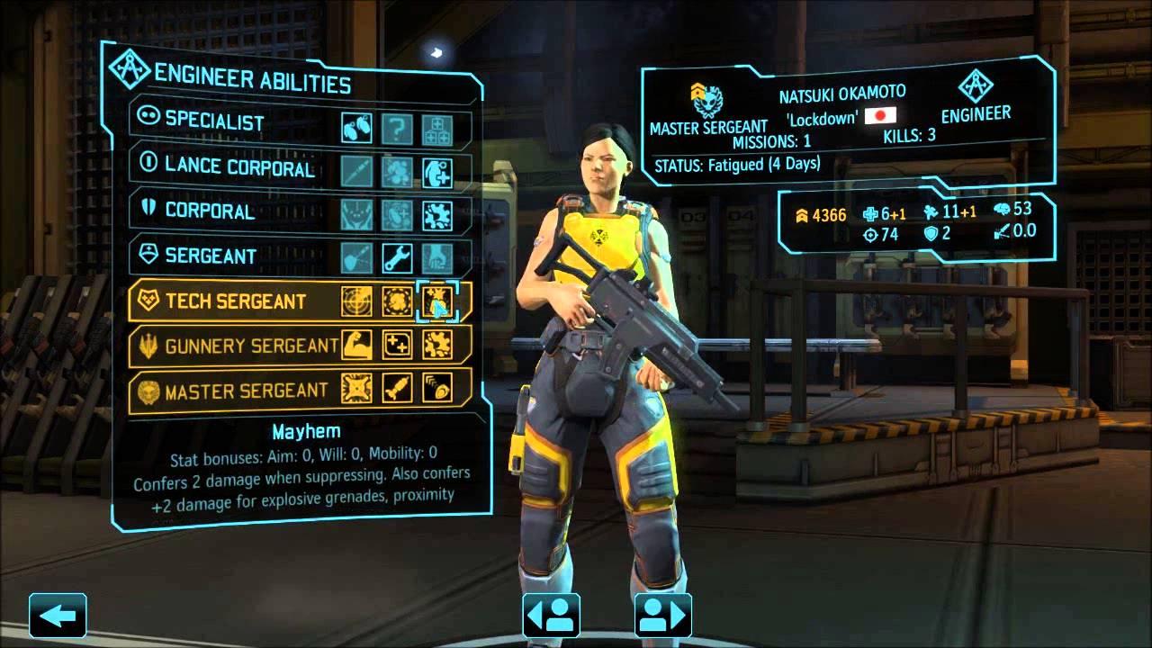 Xcom ew long war beta 15 engineer abilities and builds for Portent xcom not now