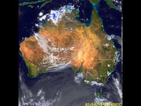Australian Weather RADAR 25/03/2012 - 08/04/2012