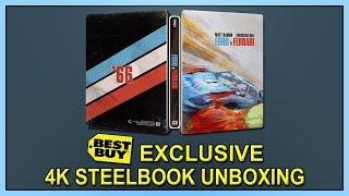 Ford V Ferrari Best Buy Exclusive 4k 2d Blu Ray Steelbook Unboxing Youtube