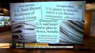 Somalia And Libya Terror Raids - New Details Emerge About Seal Operations 2/3 - 10th October 2013