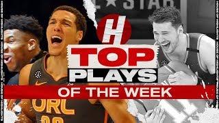 Top Plays of The Week   Friday, February 21   2019-2020 NBA Season