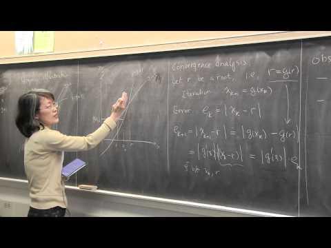 CMPSC/Math 451: March 2, 2015. Fixed point iterations. Wen Shen