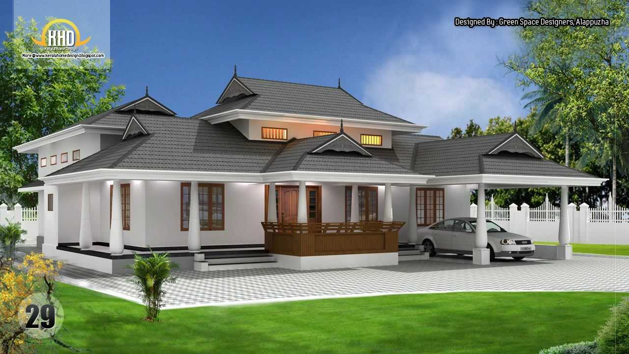 Kerala home design 2012