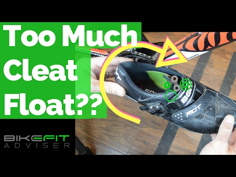 Too Much Cleat Float? | Bike Fit