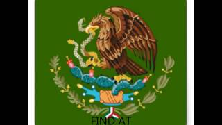 STICKER COAT OF ARMS MEXICO
