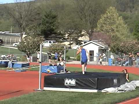 Bellwood Antis High School Record High Jump  6' 7""