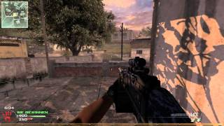 Call of Duty MW2 Rundown - M240 w/ACOG PC Gameplay